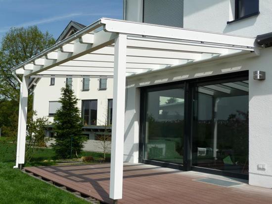 Randsparren Terrassendach Holz